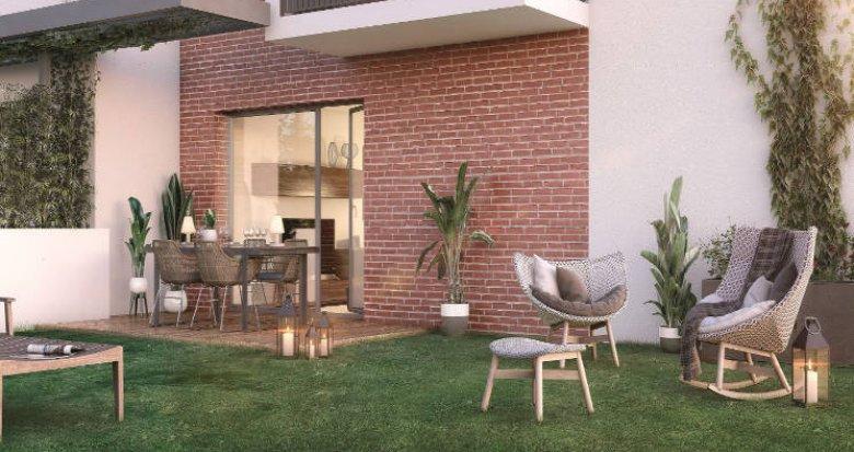 Achat / Vente appartement neuf Toulouse cœur du quartier Saint-Simon (31000) - Réf. 4585