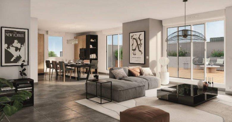 Achat / Vente appartement neuf Toulouse cœur quartier de Croix Daurade (31000) - Réf. 5502