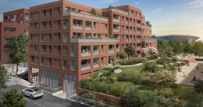 Achat / Vente appartement neuf Toulouse écoquartier Cartoucherie (31000) - Réf. 5856