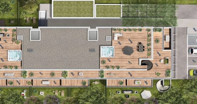 Achat / Vente appartement neuf Toulouse entre 2 stations de métro (31000) - Réf. 4665