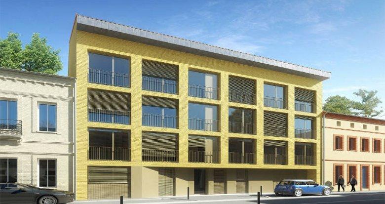 Achat / Vente appartement neuf Toulouse entre le Jardin des plantes et le canal (31000) - Réf. 5776