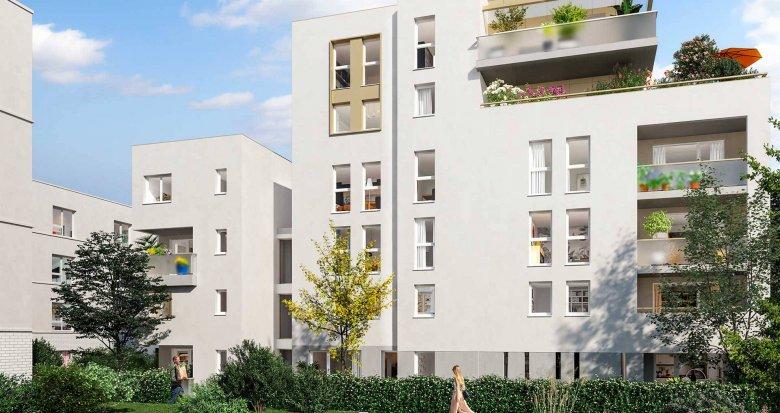 Achat / Vente appartement neuf Toulouse face au Parc de la Marcaissonne (31000) - Réf. 6233