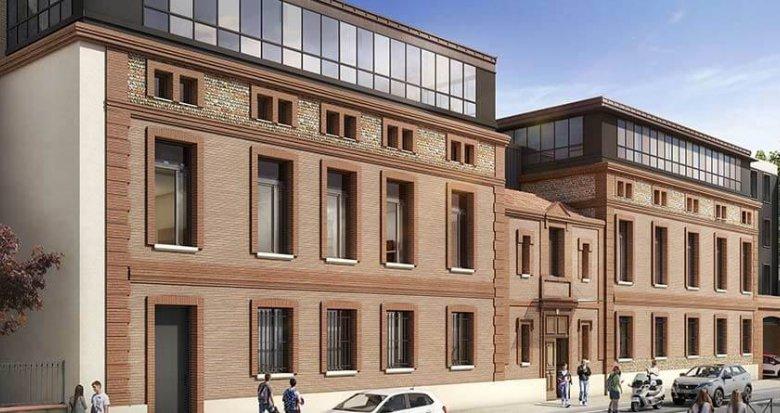 Achat / Vente appartement neuf Toulouse proche centre-ville (31000) - Réf. 3131
