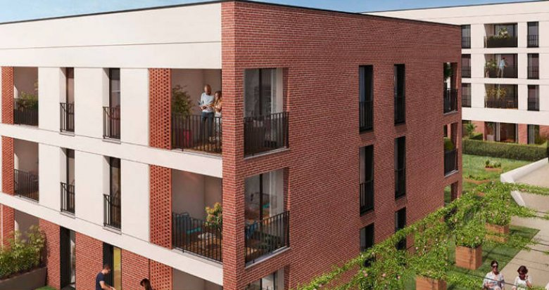 Achat / Vente appartement neuf Toulouse proche du lac de la Ramée (31000) - Réf. 4765