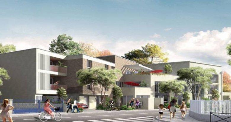 Achat / Vente appartement neuf Toulouse proche Hôpital Rangueil (31000) - Réf. 5986