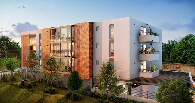Achat / Vente appartement neuf Toulouse proche Jardin Niel (31000) - Réf. 3213
