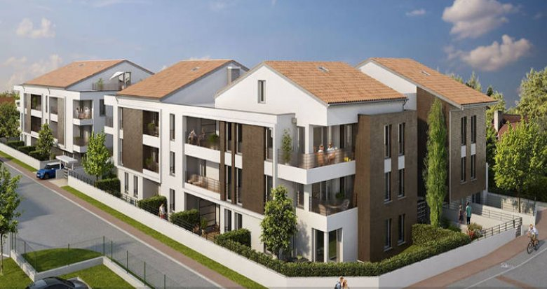 Achat / Vente appartement neuf Toulouse proche Lac des Sesquières (31000) - Réf. 4683