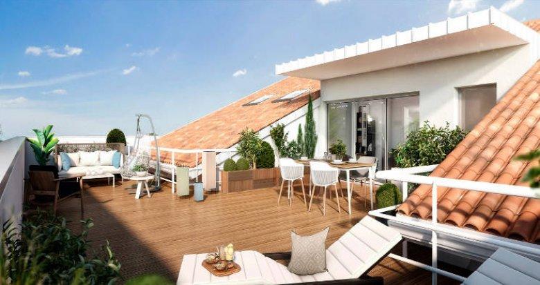 Achat / Vente appartement neuf Toulouse proche mairie de quartier (31000) - Réf. 3319