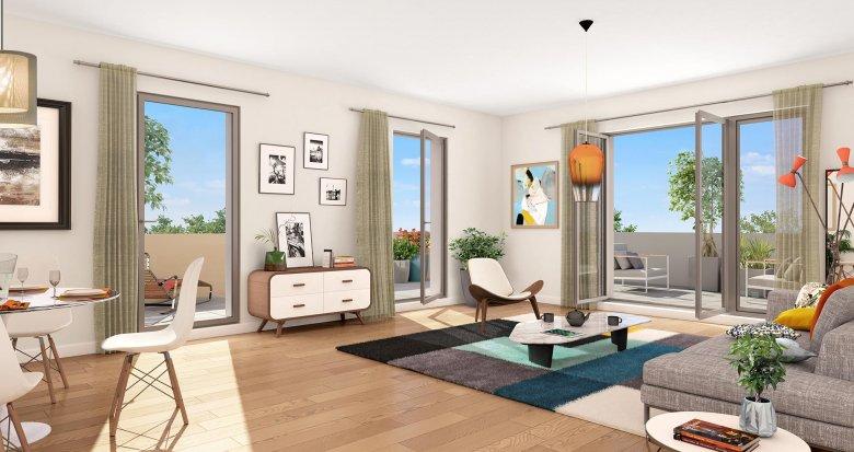 """Achat / Vente appartement neuf Toulouse proche métro ligne 2 """"Patte d'Oie"""" (31000) - Réf. 3641"""