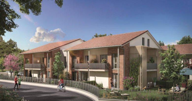 Achat / Vente appartement neuf Toulouse proche Oncopole (31000) - Réf. 5955
