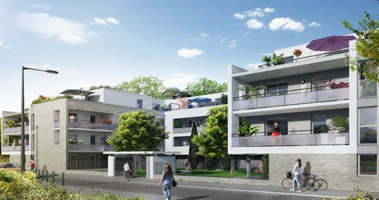 Achat / Vente appartement neuf Toulouse proche Parc de la Maourine (31000) - Réf. 3142