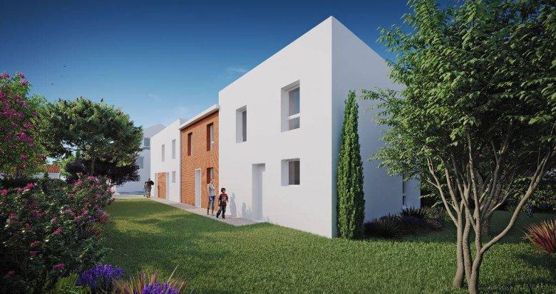 Achat / Vente appartement neuf Toulouse proche Parc de la Maourine (31000) - Réf. 6242
