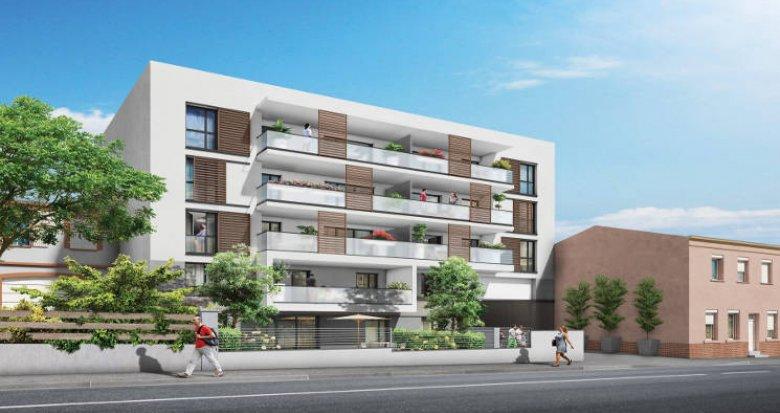 Achat / Vente appartement neuf Toulouse proche Parc de Montaudran (31000) - Réf. 3159