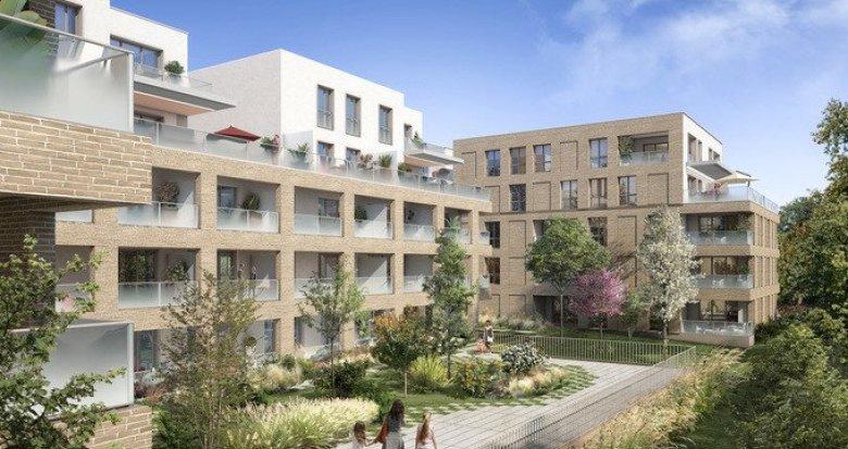 Achat / Vente appartement neuf Toulouse proche transports à 10 min du centre (31000) - Réf. 5589