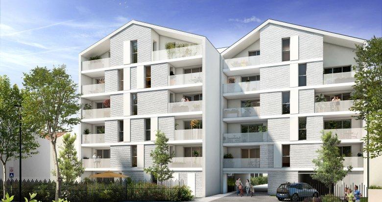 Achat / Vente appartement neuf Toulouse quartier Barrière de Paris (31000) - Réf. 3471