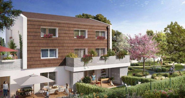 Achat / Vente appartement neuf Toulouse quartier Bonnefoy (31000) - Réf. 4655