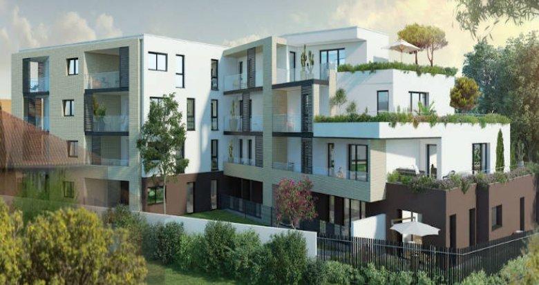 Achat / Vente appartement neuf Toulouse quartier calme Les Argoulets (31000) - Réf. 4409