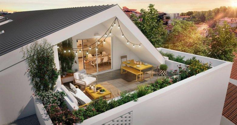 Achat / Vente appartement neuf Toulouse quartier des Ponts Jumeaux (31000) - Réf. 6161
