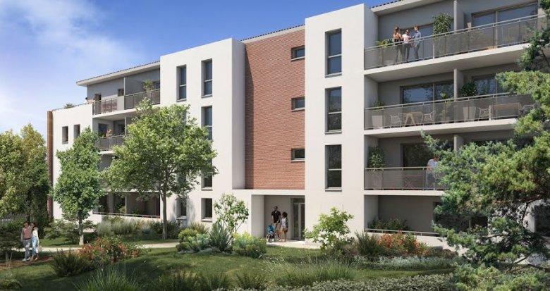 Achat / Vente appartement neuf Toulouse quartier des Trois-Cocus (31000) - Réf. 5524