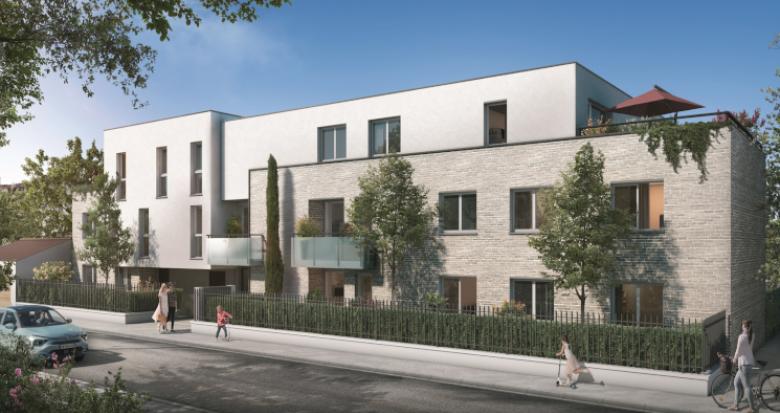 Achat / Vente appartement neuf Toulouse quartier du faubourg Bonnefoy (31000) - Réf. 5261