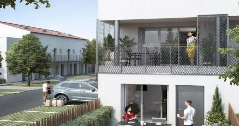 Achat / Vente appartement neuf Toulouse quartier pavillonnaire Borderouge (31000) - Réf. 4651
