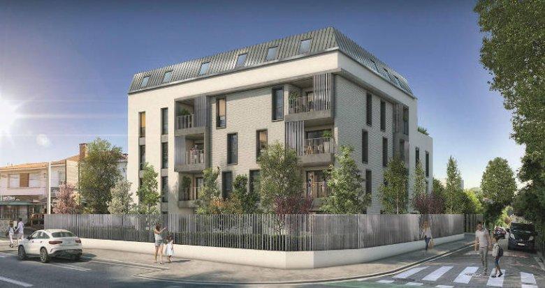 Achat / Vente appartement neuf Toulouse quartier Rangueil (31000) - Réf. 3668