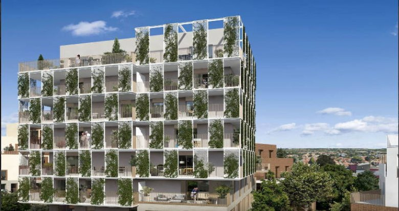 Achat / Vente appartement neuf Toulouse quartier Roseraie proche métro (31000) - Réf. 4612