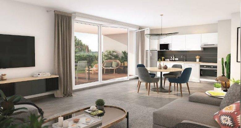 Achat / Vente appartement neuf Toulouse quartier Saint-Cyprien - Patte D'Oie (31000) - Réf. 4377