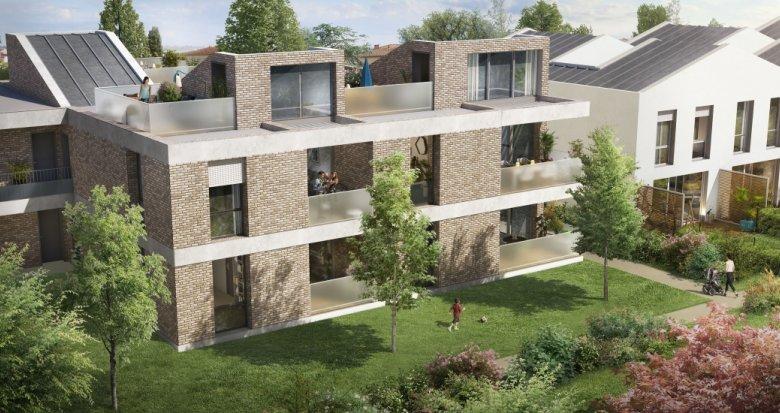 Achat / Vente appartement neuf Toulouse quartier Saint Simon (31000) - Réf. 3664