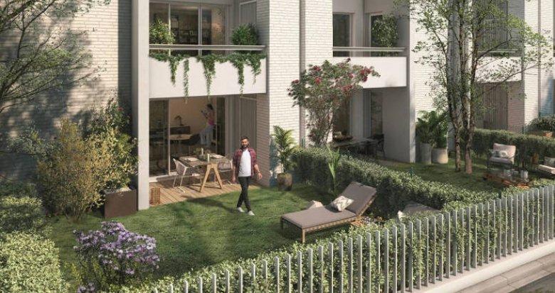Achat / Vente appartement neuf Toulouse Rangueil proche facultés (31000) - Réf. 5597