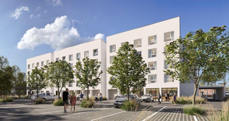 Achat / Vente appartement neuf Toulouse résidence étudiante proche gare (31000) - Réf. 6150