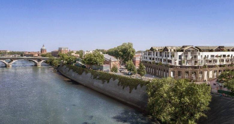 Achat / Vente appartement neuf Toulouse Saint-Cyprien proche de la Garonne (31000) - Réf. 6068