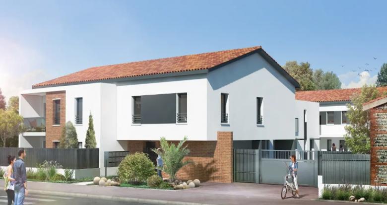 Achat / Vente appartement neuf Toulouse secteur Croix-Bénite proche bus (31000) - Réf. 4770
