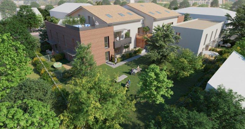 Achat / Vente appartement neuf Toulouse secteur Parc de la Maourine (31000) - Réf. 6271