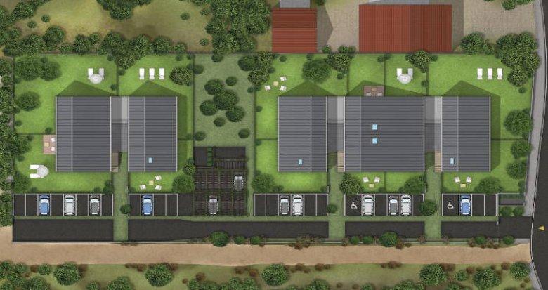Achat / Vente appartement neuf Toulouse secteur pavillonnaire Saint-Simon (31000) - Réf. 5145
