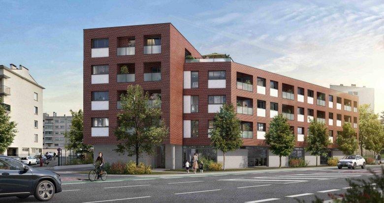 Achat / Vente appartement neuf Toulouse secteur Ponts Jumeaux (31000) - Réf. 6297