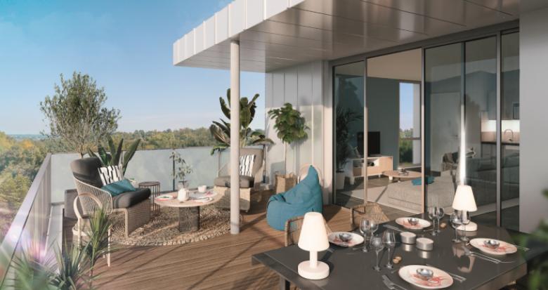 Achat / Vente appartement neuf Toulouse secteur Pouvourville proche métro B (31000) - Réf. 5260