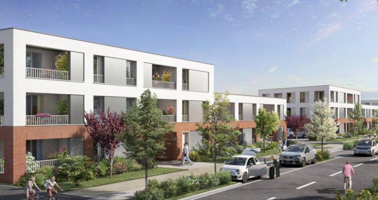 Achat / Vente appartement neuf Toulouse secteur prisé Saint-Simon (31000) - Réf. 3193