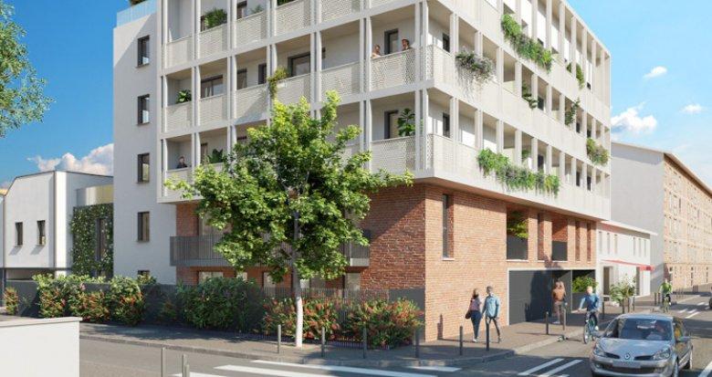 Achat / Vente appartement neuf Toulouse secteur Saint-Cyprien (31000) - Réf. 5588