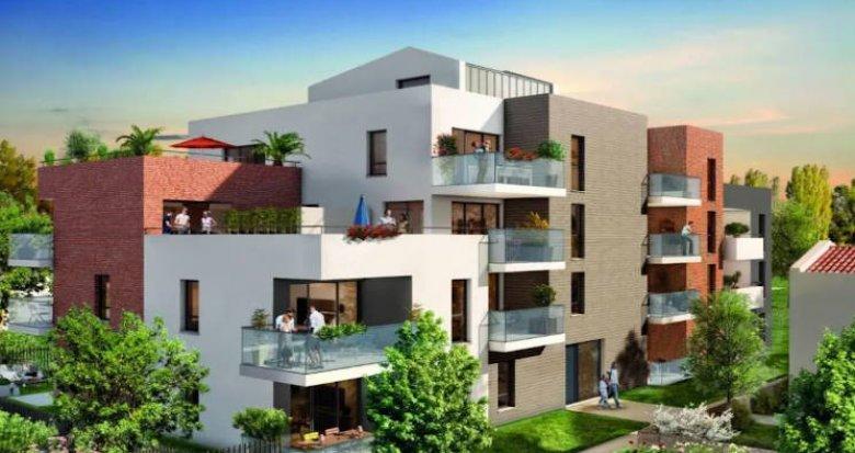 Achat / Vente appartement neuf Toulouse secteur Saint Simon (31000) - Réf. 5139