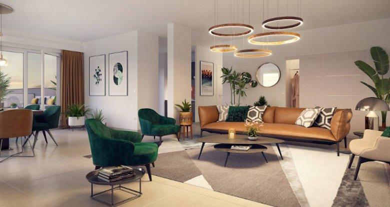 Achat / Vente appartement neuf Toulouse sur bords du Canal du Midi (31000) - Réf. 4163