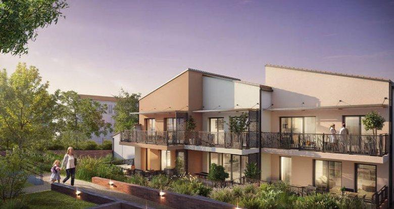 Achat / Vente appartement neuf Toulouse sur les hauteurs de la ville (31000) - Réf. 5365