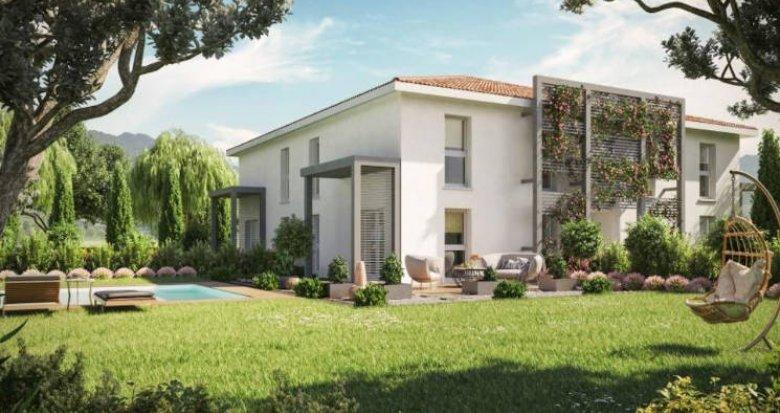 Achat / Vente appartement neuf Vigoulet-Auzil secteur calme cadre naturel (31320) - Réf. 4870