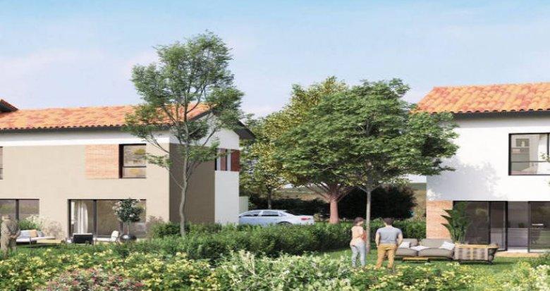 Achat / Vente appartement neuf Villeneuve-Tolosane proche Parc du Bois-Vieux (31270) - Réf. 4406