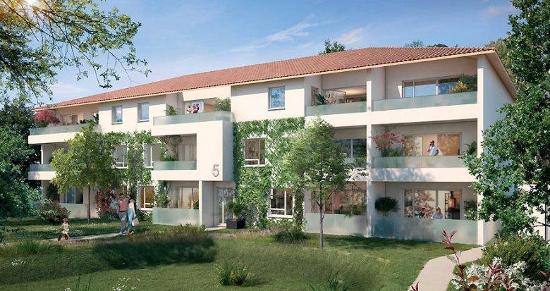 Achat / Vente appartement neuf Villeneuve-Tolosane proche projet Hyperloop (31270) - Réf. 6268